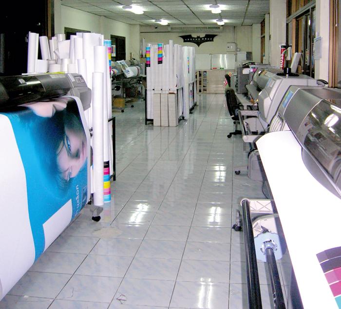 ตำหนักศิลป์ รับพิมพ์ป้ายโฆษณา, ป้ายไวนิล พิมพ์ป้ายอิงค์เจ็ท, รับออกแบบบริการพิมพ์ป้าย inkjet